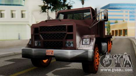 Flatbed 1.0 for GTA San Andreas