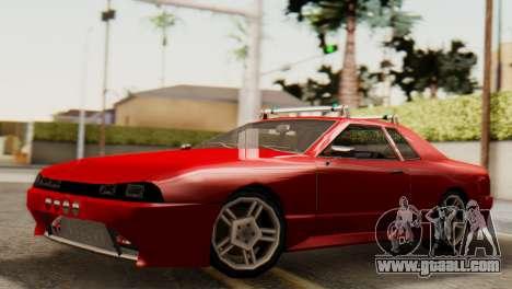Elegy Korch Stock Wheel for GTA San Andreas right view