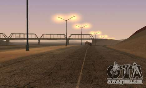 Lights from San Fierro to Las Venturas for GTA San Andreas