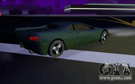 GTA 3 Infernus SA Style v2 for GTA San Andreas right view