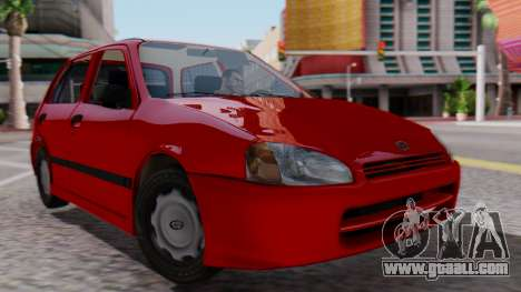 Toyota Starlet 5P 1.3L 1998 for GTA San Andreas