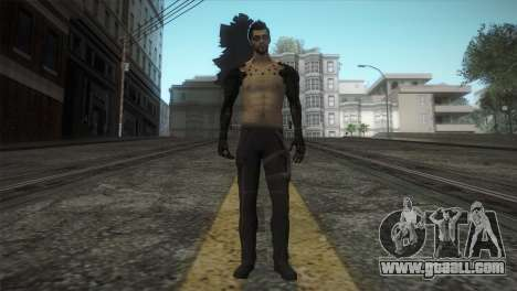 Adam Jensen for GTA San Andreas second screenshot