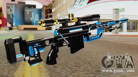 Fulmicotone Sniper Rifle for GTA San Andreas second screenshot