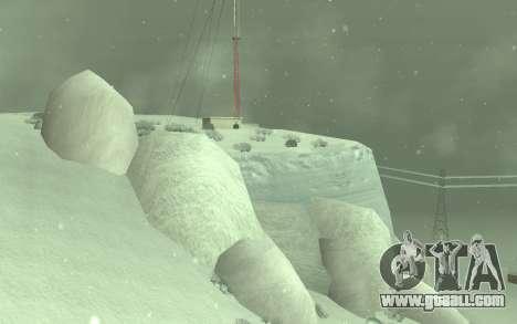 Winter Timecyc for GTA San Andreas second screenshot