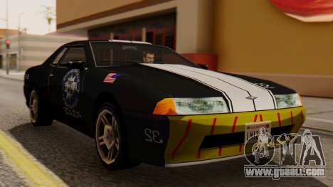 Elegy Police Edition for GTA San Andreas