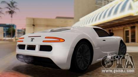 GTA 5 Adder Tire Dirt for GTA San Andreas left view
