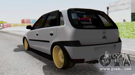 Opel Corsa Air for GTA San Andreas left view