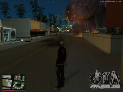 Madness in the state of San Andreas. Beta. for GTA San Andreas
