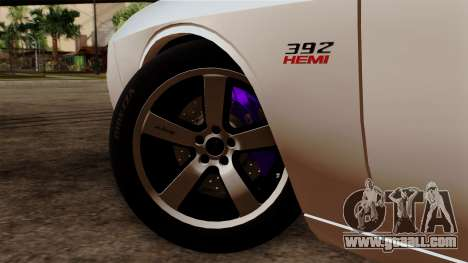Dodge Challenger SRT8 392 2012 Stock Version 1.0 for GTA San Andreas back left view