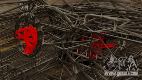 Kerdi Design Washington Roll Cage for GTA San Andreas right view