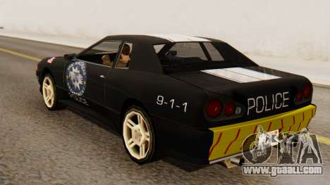 Elegy Police Edition for GTA San Andreas left view