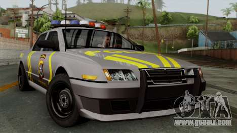 Indonesian Police Type 1 for GTA San Andreas