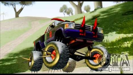 Predaceptor Monster Truck (Saints Row GOOH) for GTA San Andreas