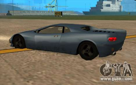 GTA 3 Infernus SA Style v2 for GTA San Andreas back view