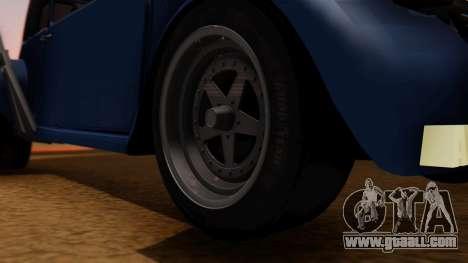 Citroen 2CV (jian) Drag Style Edition for GTA San Andreas back left view