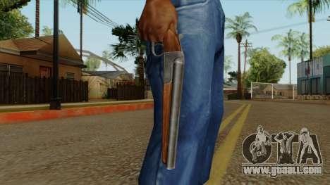Original HD Sawnoff Shotgun for GTA San Andreas third screenshot