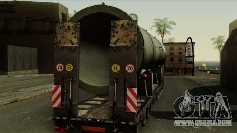 Trailer Cargos ETS2 New v3 for GTA San Andreas right view