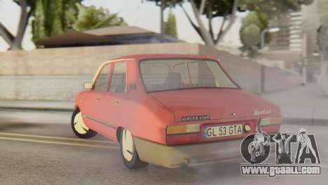 Dacia 1310 Berlina v2 for GTA San Andreas back left view