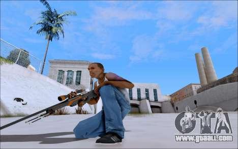 AWP Carbone Edition for GTA San Andreas third screenshot