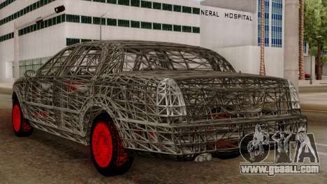 Kerdi Design Washington Roll Cage for GTA San Andreas back view