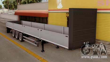 Trailer Kogel for GTA San Andreas