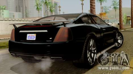 GTA 5 Albany Alpha v2 IVF for GTA San Andreas left view