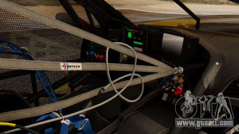 Chevrolet Corvette C7R GTE 2014 PJ2 for GTA San Andreas right view