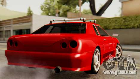 Elegy Korch Stock Wheel for GTA San Andreas left view