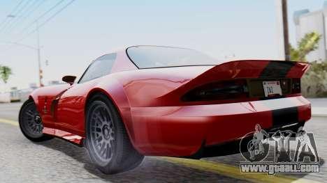 GTA 5 Banshee Dirt for GTA San Andreas left view