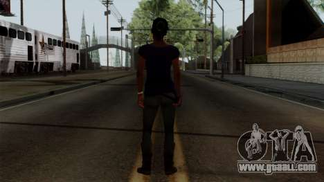 Rochelle New Textures for GTA San Andreas third screenshot