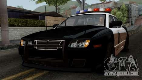 GTA 5 LS Police Car for GTA San Andreas