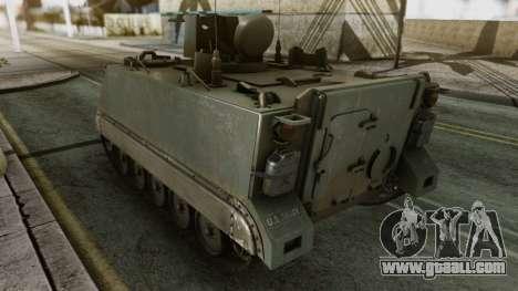 PGZ-95 Radar (Type 95) for GTA San Andreas back left view