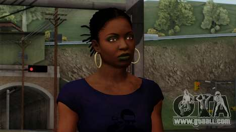 Rochelle New Textures for GTA San Andreas