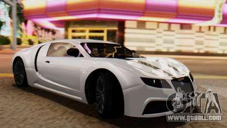 GTA 5 Adder Tire Dirt for GTA San Andreas back left view