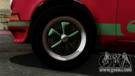 Porsche 911 Carrera RS 2.7 Sport (911) 1972 IVF for GTA San Andreas back left view