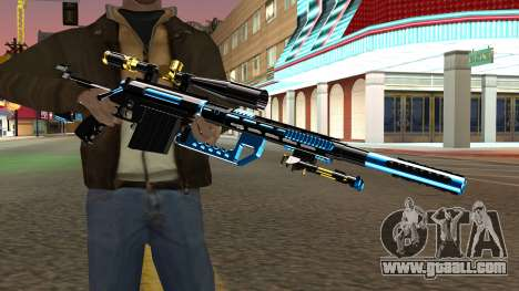 Fulmicotone Sniper Rifle for GTA San Andreas third screenshot