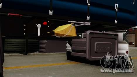 Trailer Krone Profiliner v2 for GTA San Andreas back view