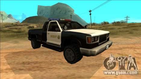 New Yosemite Police v2 for GTA San Andreas left view