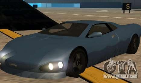 GTA 3 Infernus SA Style v2 for GTA San Andreas left view