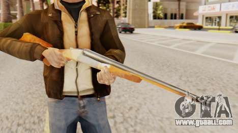 Full version double shotguns for GTA San Andreas third screenshot