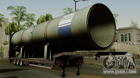 Trailer Cargos ETS2 New v3 for GTA San Andreas