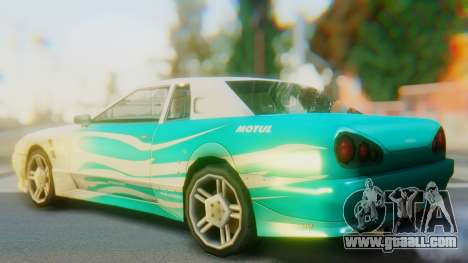 Elegy New Paintjob for GTA San Andreas left view