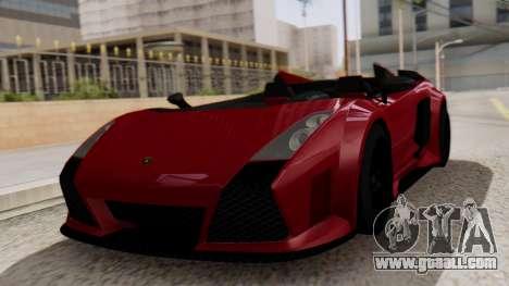 Lamborghini Gallardo J Style for GTA San Andreas