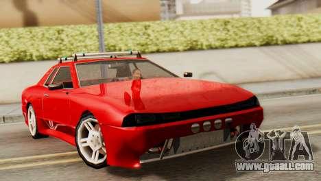 Elegy Korch Stock Wheel for GTA San Andreas