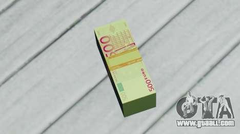 500 Euro for GTA San Andreas second screenshot