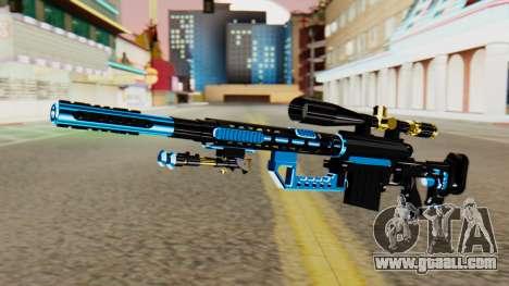 Fulmicotone Sniper Rifle for GTA San Andreas