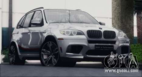 BMW X5M MPerformance Packet for GTA San Andreas right view
