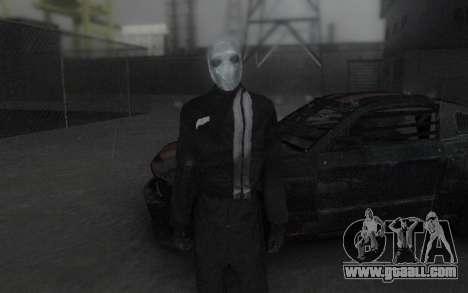 Frankenstein Skin for GTA San Andreas second screenshot