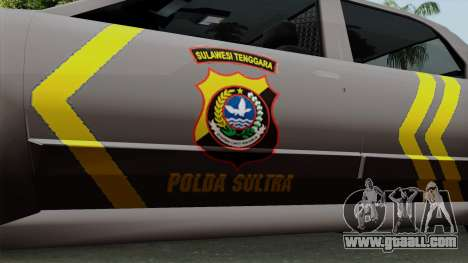 Indonesian Police Type 1 for GTA San Andreas right view