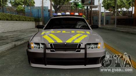 Indonesian Police Type 1 for GTA San Andreas side view